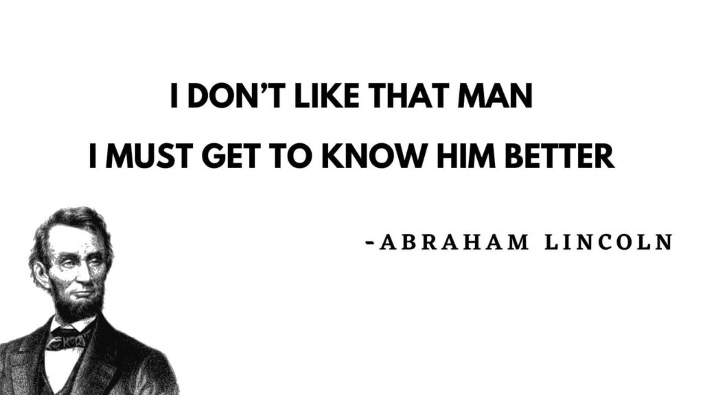 Abraham Lincoln quotes love