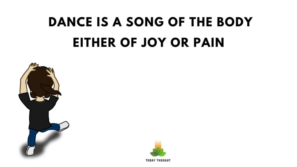 quotes on dance
