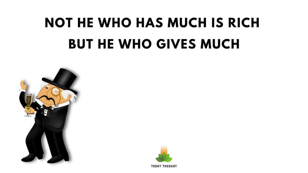 richness quotes