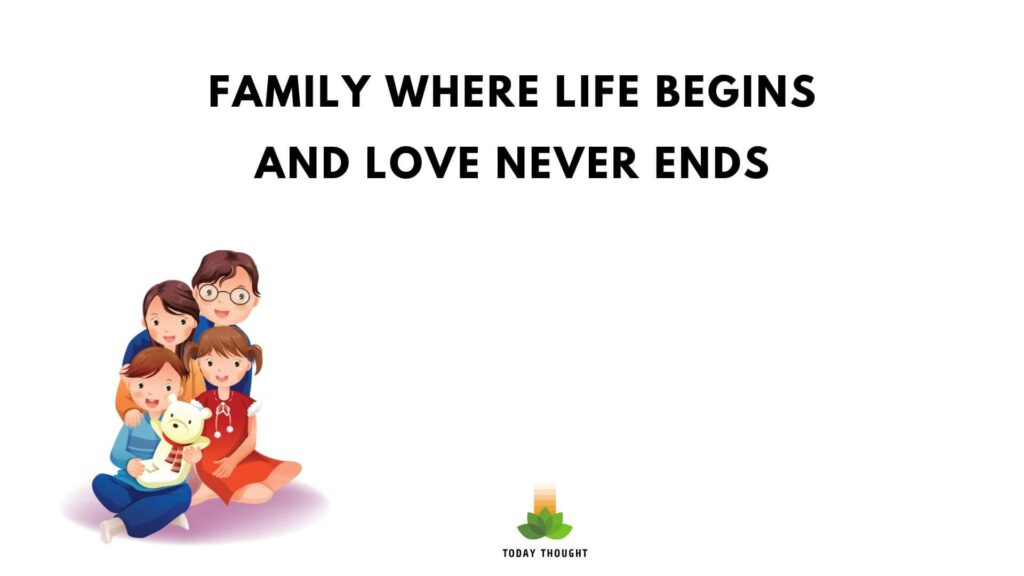 family quotes of love